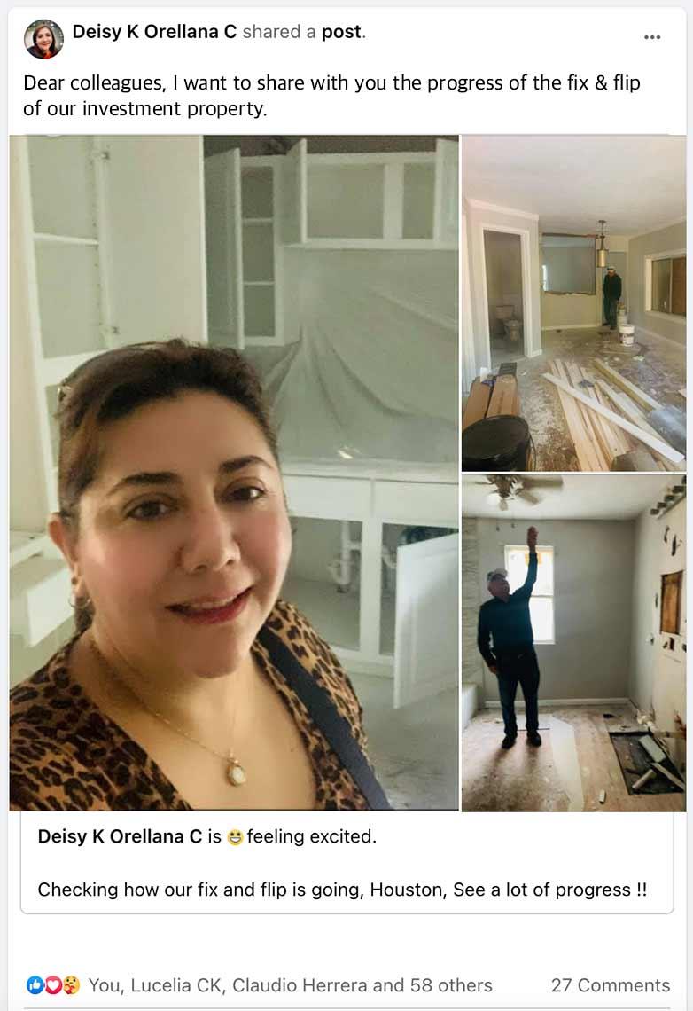 Deisy Orellana - Novarise Invest Reviews